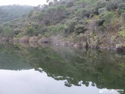 Garganta Picadas_Via Verde Alberche;senderismo gratis rutas de montaña por madrid